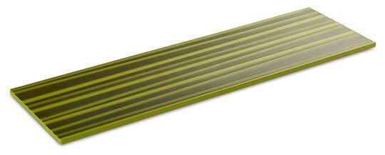 APS melamine Asia Plus plateau 2/4 GN bamboo structuur