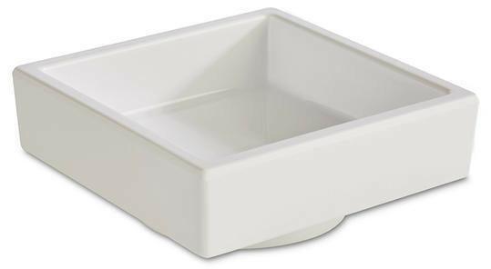 APS melamine Bento Box bowl 7,5 x 7,5 x 3(h) cm wit