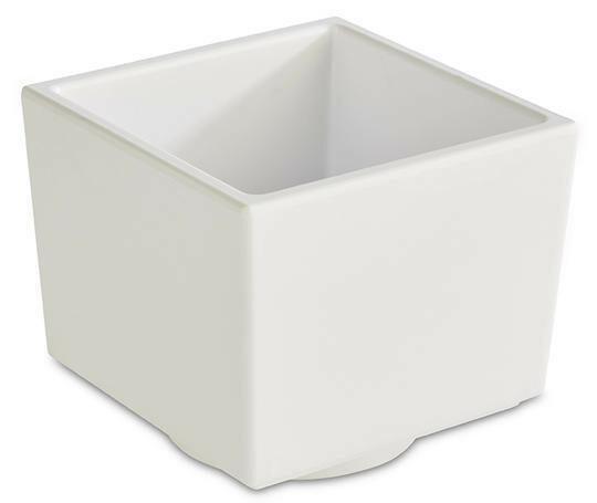 APS melamine Bento Box bowl 7,5 x 7,5 x 6,5(h) cm wit