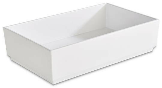 APS melamine Bento Box bowl 25 x 15,5 x 6,5(h) cm wit
