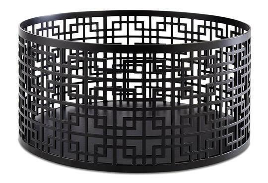 buffet standaard Asia Plus edelstaal zwarte coating Ø 21 x 10,5(h) cm