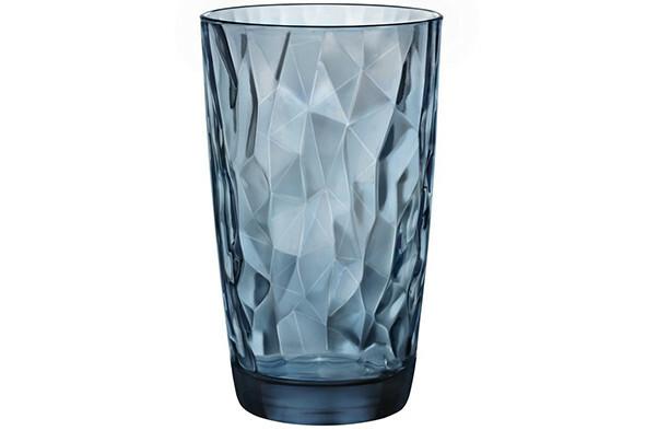 Bormioli Rocco Diamond longdrink 47 cl blauw