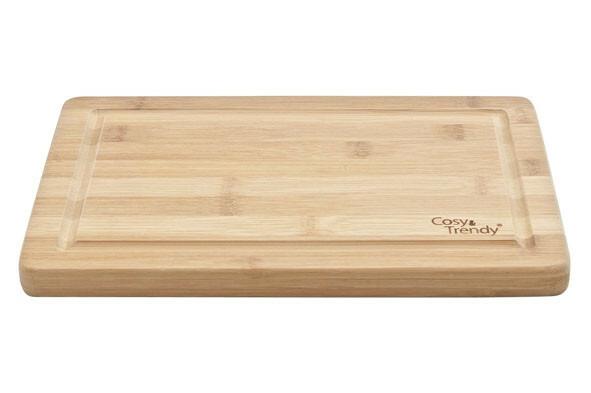 plank rechthoek bamboe 29 x19 x 1,8(h) cm