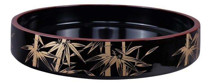 Sushi Oke Kaze No.11 lacquerware 33 x 6(h) cm