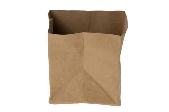 Ecosy broodzak bruin craft papier 14 x 14 x 15(h) cm