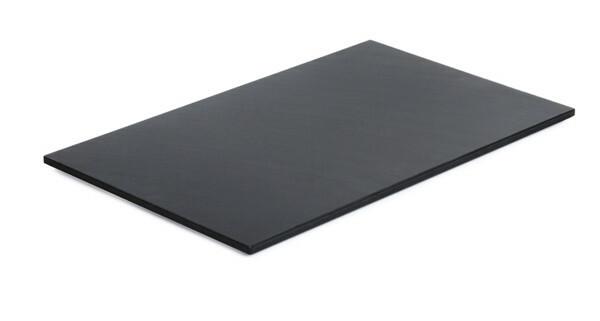 Frames module snijplank 1/1 GN zwart kunststof