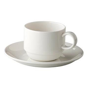 St. James Coffee & Tea stackable saucer 15 cm