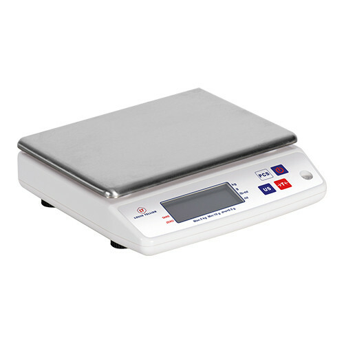 elektronische weegschaal * 10 kg in 1 grams stappen
