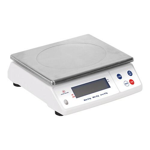 elektronische weegschaal * 12 kg in 1 grams stappen