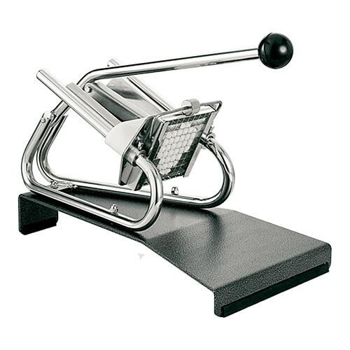 Louis Tellier fritessnijder * tafelmodel incl. 13 x 13 mm mesrooster en drukstuk