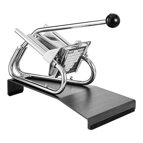 Louis Tellier fritessnijder * tafelmodel incl. 10 x 20 mm mesrooster en drukstuk