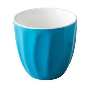 CP trendy koffiemok 18 cl blauw