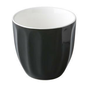CP trendy koffiemok 18 cl zwart