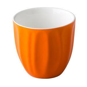 CP trendy koffiemok 18 cl oranje