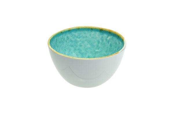 C & T melamine Laguna Azzurro bowl 19 x 17 x 5(h) cm