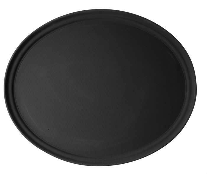 Cambro ovaal dienblad * anti-slip 68,5 x 56 cm