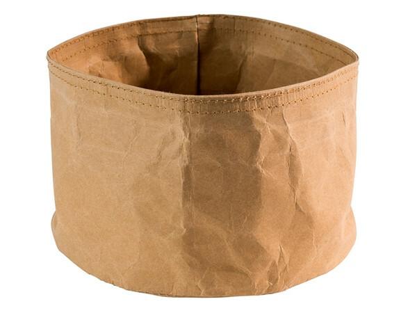 broodzak lichtbruin craft papier Ø 17 x 11(h) cm