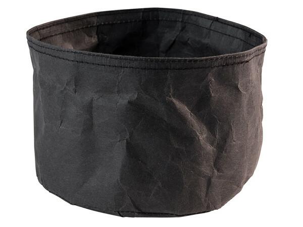 broodzak donkerbruin craft papier Ø 17 x 11(h) cm