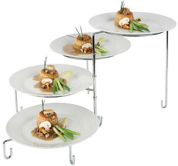 borden etagere voor borden max. Ø 31 cm ring 23,5 cm
