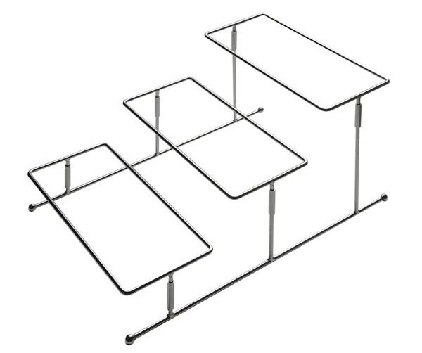 buffet etagere flexibel 3-etages 21,5 cm hoog