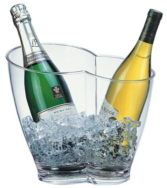 wijnkoeler kunststof ovaal 30,5 x 21,5 26(h) cm