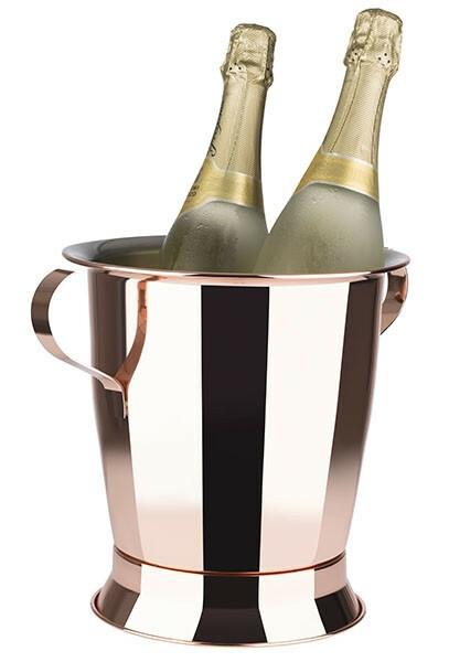 flessenkoeler Trophy koper look Ø 23 x 24(h) cm 5 Ltr