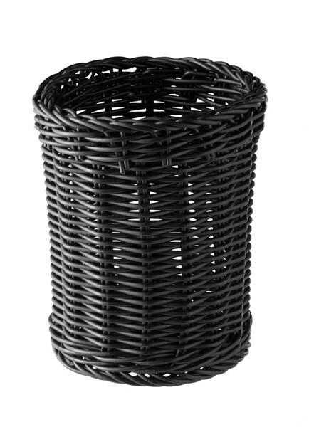 bestekhouder Economic Ø 12 x 15(h) cm zwart