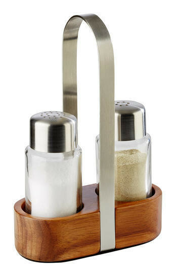 menage set peper-zout 11,5 x 5,5 17(h) cm