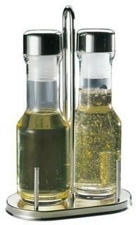 menage set olie-azijn 14,5 x 8,5 x 23(h) cm