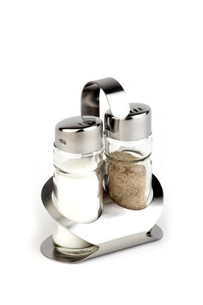 menage set peper-zout 8,5 x 5,7 x 11,5(h) cm