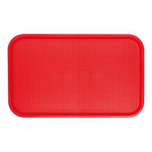 fast food dienblad polypropyleen rood 53 x 32,5 cm