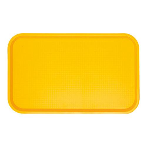 fast food dienblad polypropyleen geel 53 x 32,5 cm