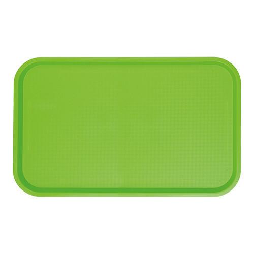fast food dienblad polypropyleen groen 53 x 32,5 cm