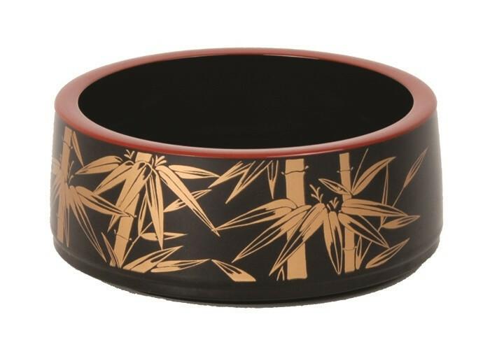 Sushi Oke Kaze No.5 lacquerware 16 x 6(h) cm