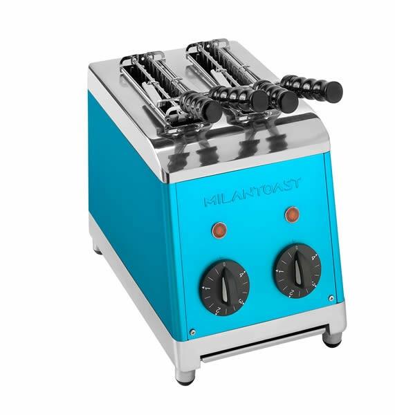Milantoast tosti apparaat * 2 tangs blauw