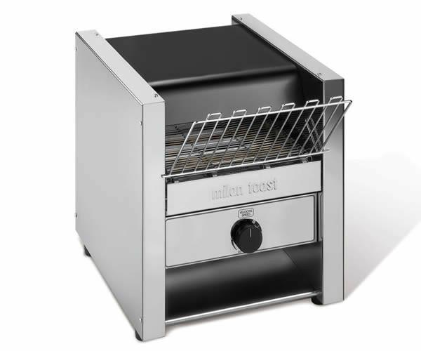 Milantoast conveyor toaster * dubbele doorvoer 600 snee per uur