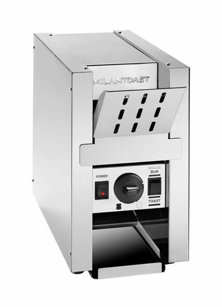 Milantoast conveyor toaster * 1 snee doorvoer 250 snee per uur