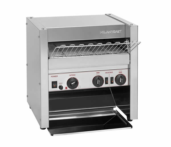 Milantoast conveyor toaster * 3 snee doorvoer > 950 snee per uur