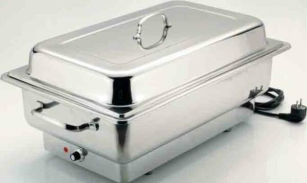chafing dish 1/1 GN elektrisch inzetpan 100 mm diep