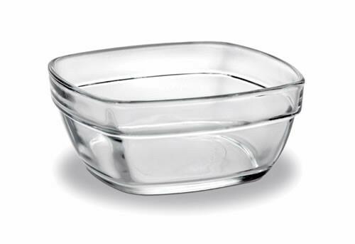 Duralex Carre schaal glas Ø 11 cm DOOS 6