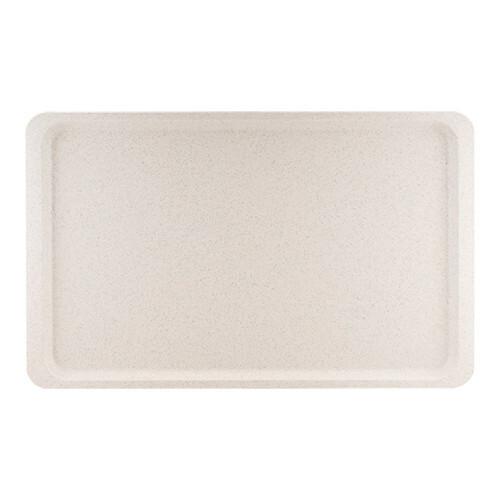 Roltex rechthoekig dienblad polyester 53 x 32,5 cm massief grijs