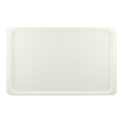 Roltex rechthoekig dienblad polyester 53 x 32,5 cm parelwit