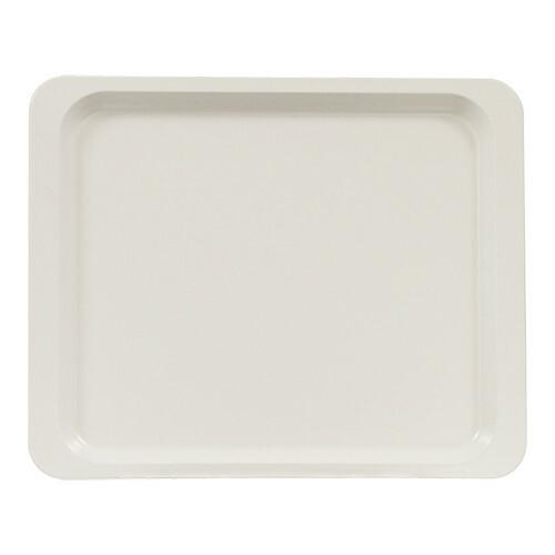 Roltex rechthoekig dienblad polyester 26,5 x 32,5 cm parelwit