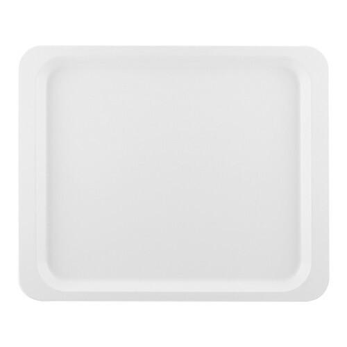 Roltex rechthoekig dienblad polyester 26,5 x 32,5 cm wit