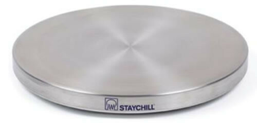 RVS koelplaat Staychill rond 30 cm