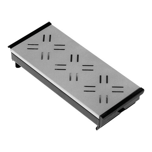 rechaud * 34 x 17 cm aluminium bovenplaat