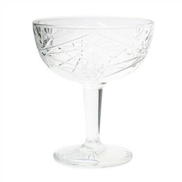 Libbey Hobstar * coupe glas 25 cl DOOS 12