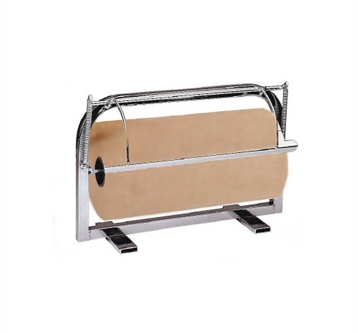 dispenser voor vetvrij papierrol RVS 43 x 29 x 18(h) cm