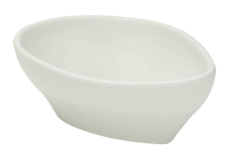 C & T melamine Whitestone bowl 11,8 x 8,5 x 4,8(h) cm