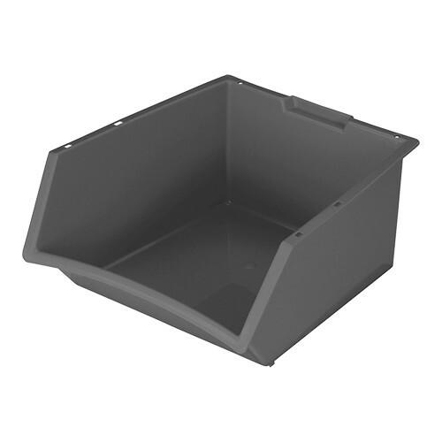 voorraad/stapelbak 39 x 36 x 20(h) cm grijs